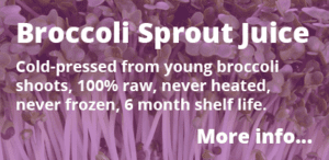 broccoli sprout juice information